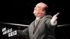 Paul Heyman's greatest insults: WWE Top 10