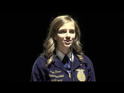 2017 Third General Session - 89th Iowa FFA State Leadership