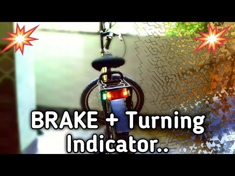 BRAKE INDICATOR +TURNING LIGHTS........