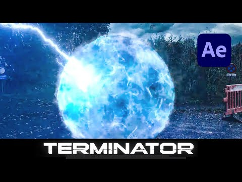 Terminator Teleport Effect in Adobe After Effects - How To Tutorial thumbnail