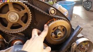 GOLF 4 1.9 TDI 110ch لنتعرف على أجزاء و قطع محرك سيارة كولف