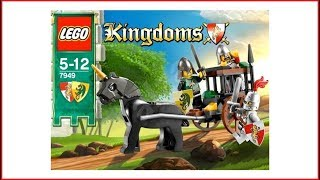 LEGO KINGDOMS 7949 Prison Carriage Rescue Construction Toy - UNBOXING