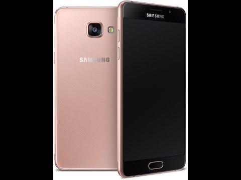 Видео обзор смартфона Samsung SM-A510F Galaxy A5 (2016) 16 Гб Pink розовый