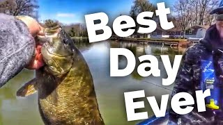 Perhaps the Best Day of Bass Fishing EVER!!