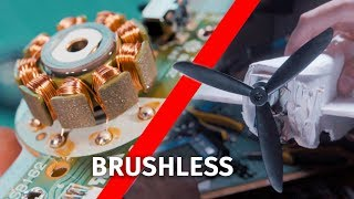 Brushless motor from old CD drive to power RC airplane