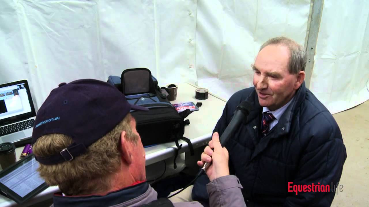 Heath Ryan talking with Barry Roycroft about 3* Dressage and The Olympic Eventing Selection