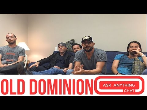 Old Dominion Interactive Chat w/ Bobby Bones  - AskAnythingChat