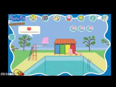 Peppa Pig  Peppa Daddy Pig's Big Splash Full Episode   Peppa Pig Game For Kids