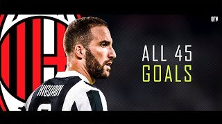 Gonzalo Higuain - All 45 Goals - Welcome to Milan
