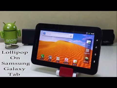 Install Android 5.0.2 Lollipop On Samsung Galaxy Tab!