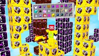 SPONGEBOB STÄRKER ALS FULL ILLUMINATI? | LUCKY BLOCKS TOWER