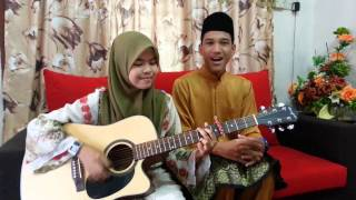 Suasana di Hari Raya-cover by Wani &Adli