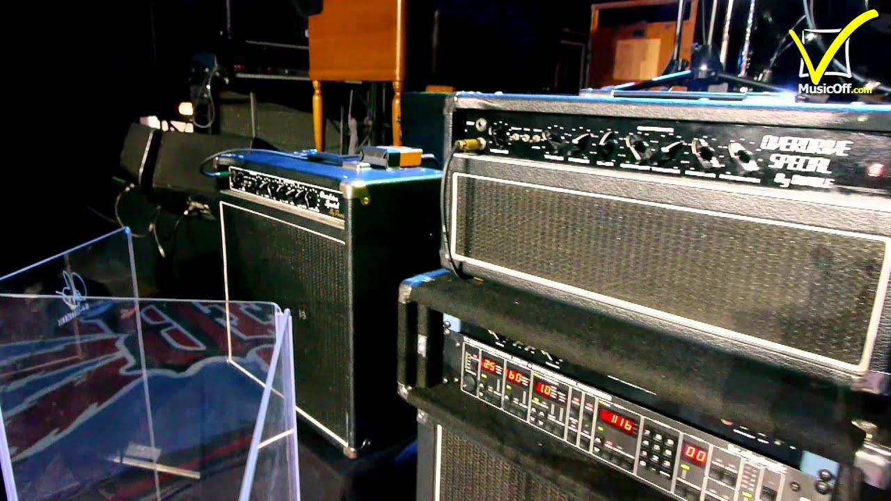 Joe Bonamassa Amps Amp Pedals Live Rig 2014 Youtube