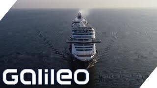 Fünf Geheimnisse rund um die Kreuzfahrt | Galileo | ProSieben