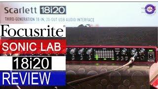 Sonic LAB: Focusrite Scarlett  3rd Gen 18i20 USB Audio i/f