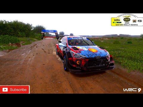WRC 9 FIA World Rally Championship   Rally Kenya   Hyundai I20 WRC  