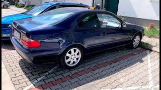 Авто: запускаем Mercedes CLK 200 Avantgarde Kompressor w208 с мертвым аккумом после года простоя ;)