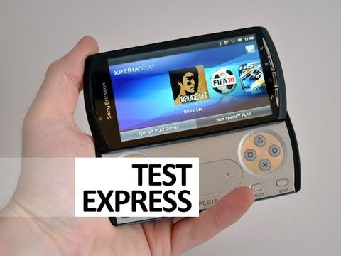 Test Express : Sony Ericsson Xperia Play - par Test-Mobile.fr