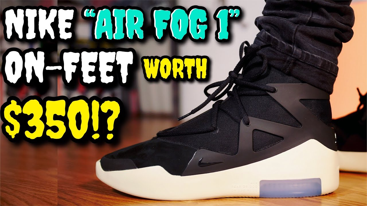 "designer fashion e6cd9 adb47 NIKE ""AIR FEAR OF GOD 1"" ON FEET REVIEW! WORTH  350!"