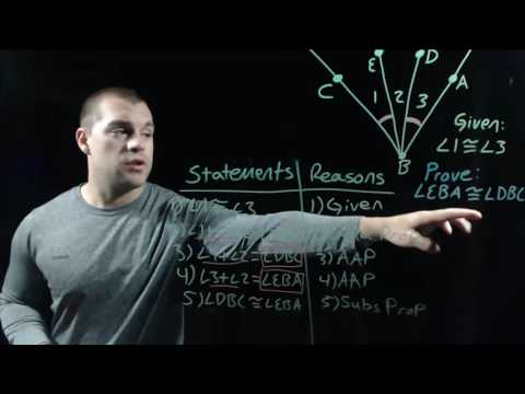 Geometry 2.6: Prove Statements About Segments And Angles Part 1