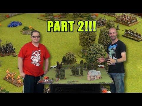 Kings of War Week:  Demo Game Part 2!
