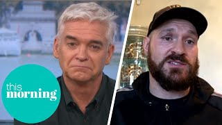 Tyson Fury 'Concerned' About Deontay Wilder's Mental Wellbeing Ahead of Fight | This Morning