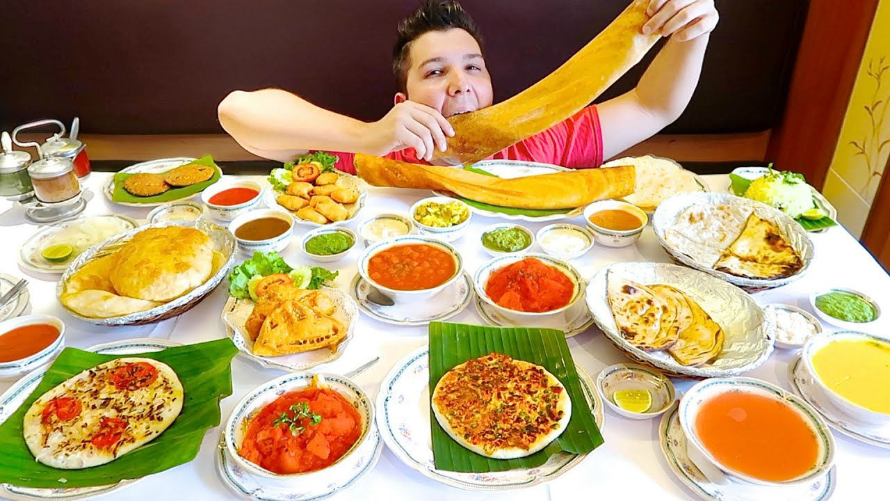 massive indian food buffet all you can eat mukbang youtube. Black Bedroom Furniture Sets. Home Design Ideas
