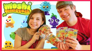 Moshi Monsters Food Factory Blind Bag Surprise Opening with Chad Alan