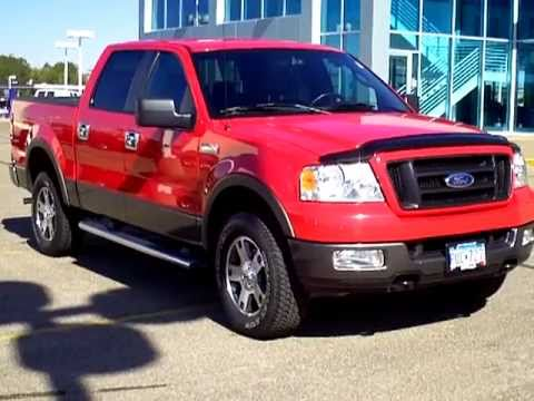 2005 ford f150 fx4 off road 5 4l triton v8 youtube. Black Bedroom Furniture Sets. Home Design Ideas