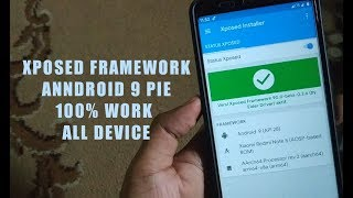 Gambar cover Install Xposed Framework ANDROID 9 PIE | 100% Work