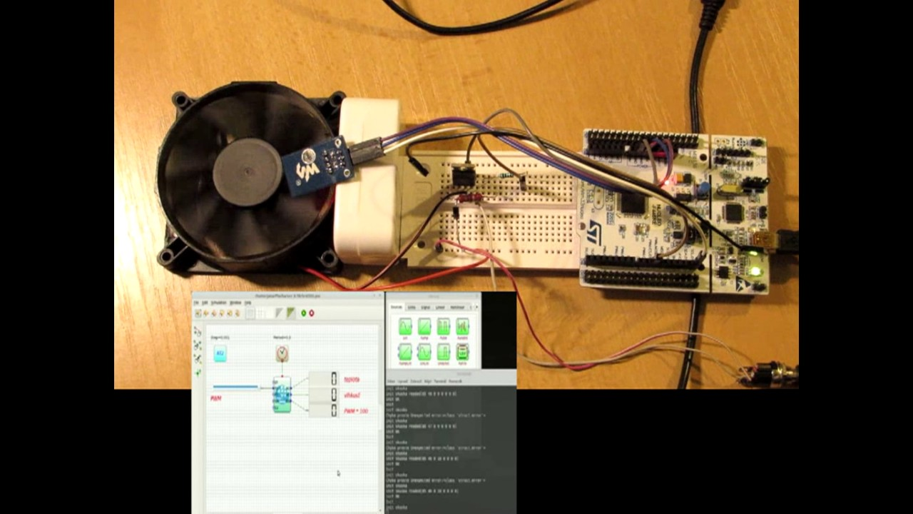 PSE simulator: STM32 Nucleo + DHT 11 temperature sensor
