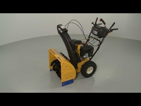 Cub Cadet Snowblower Disassembly