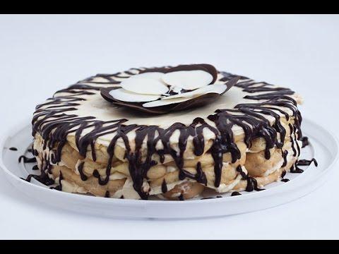 Торт Дамские пальчики пошаговый рецепт с фото приготовления