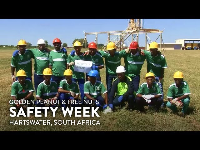 Golden Peanut and Tree Nuts - South Africa: Safety Week