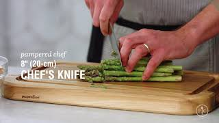 video recipe Roasted Chicken and Asparagus with Pan Sauce us ca