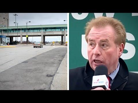No Lines! Niagara's Rainbow Bridge Border Crossing Goes Quiet Under Coronavirus Travel Ban Rules