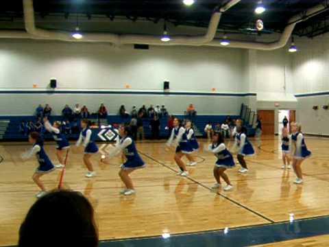 shiloh middle school cheerleaders!