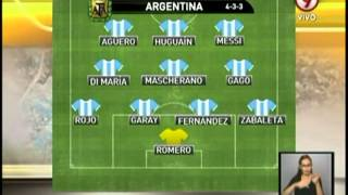 Hoy juega Argentina ante Rumania