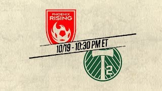 2018 #USLPLAYOFFS - Phoenix Rising FC vs Portland Timbers 2: October 19th, 2018