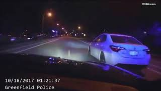 Greenfield police perform pit maneuver to stop stolen car