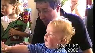 Rebecca's 3rd Birthday at Kings Hill - October 2000