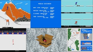 AAAA - Winter Games (NES, 1987)
