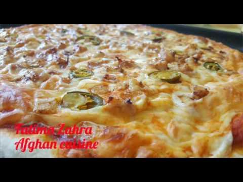 طرز تهیه پیتزا Recipe Pizza