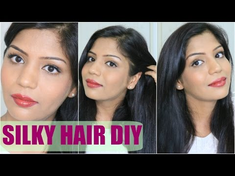 How To Get Silky Smooth Shiny Hair at home | Summer Hair Care | SuperPrincessjo