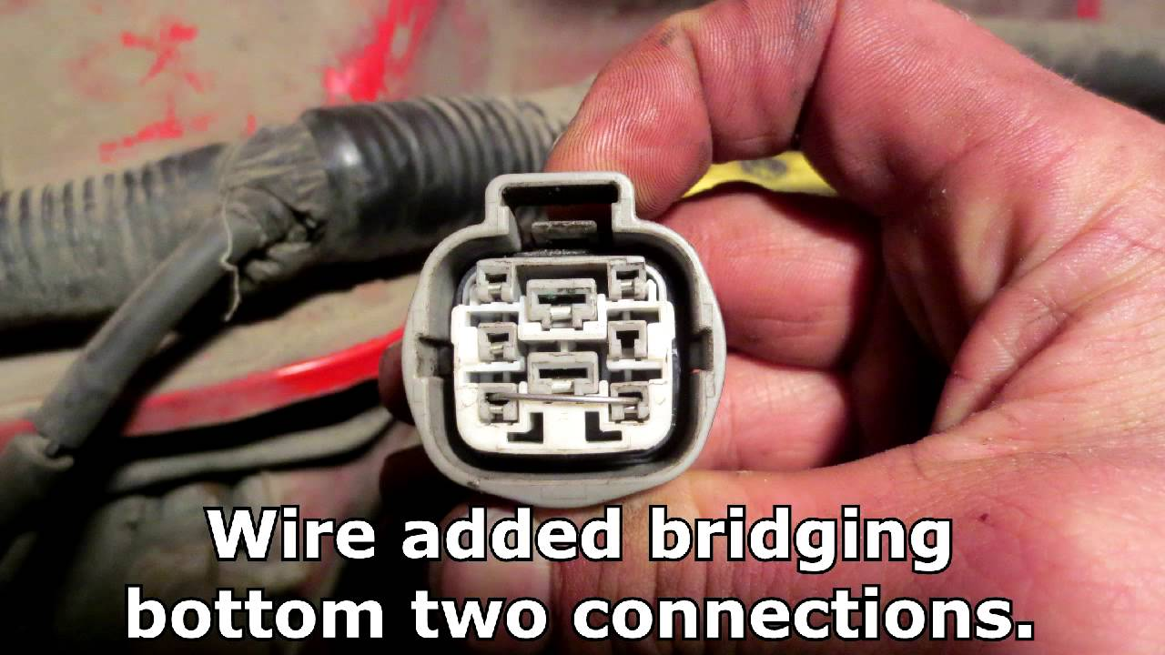 How To Bypass Neutral Safety Switch On 1997 Jeep Cherokee Youtube Wrangler Under Hood Wiring Diagram