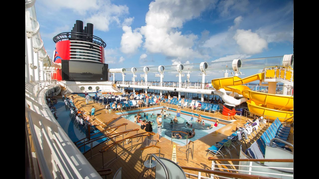 Disney Cruise Lines Disney Fantasy Cruise Ship Deck Pool Time - Fantasy cruise ship pictures