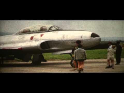 Flugtag auf dem Flugplatz Lahr Mitte der 60er