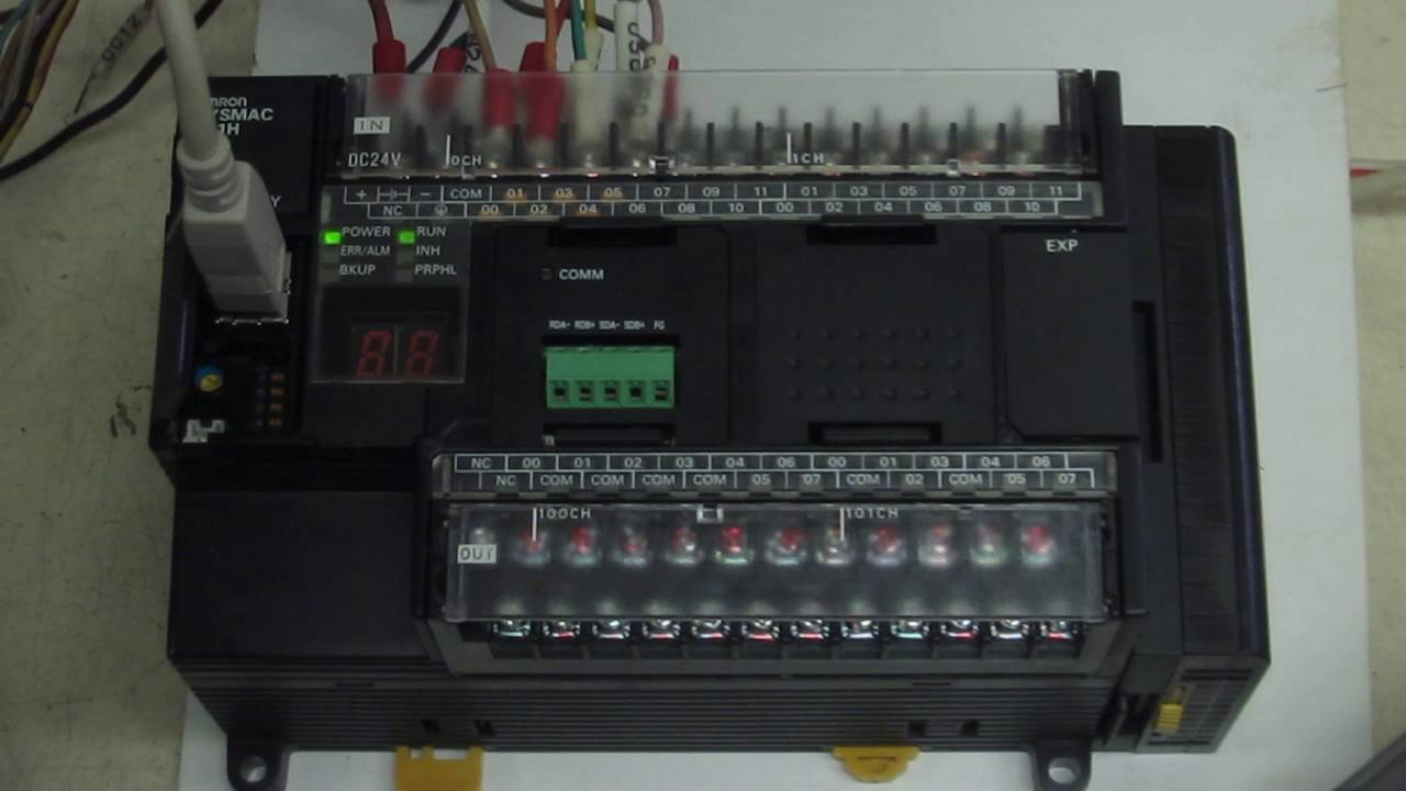 Omron cp1h x40dt d programmable controller cp1h series