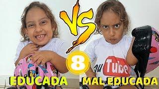 Criança educada VS Mal educada #8 - MC Divertida