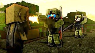 THE DEAD ZONE! (SCARY ZOMBIES!) - Minecraft Zombie Apocalypse #6 - Decimation Mod